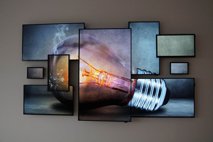 Digital Signage - Logando Samsung Art Wall - Logando                                                                                                                                                                                 More