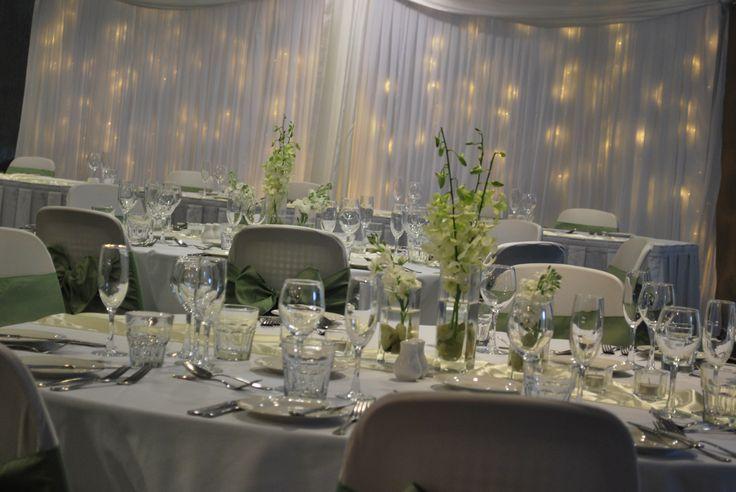 Mercure Townsville - Lakes Room - Wedding Reception - Elegant - Fairy Lights
