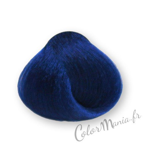 coloration cheveux bleu royal stargazer color mania - Coloration Semi Permanente Bleu