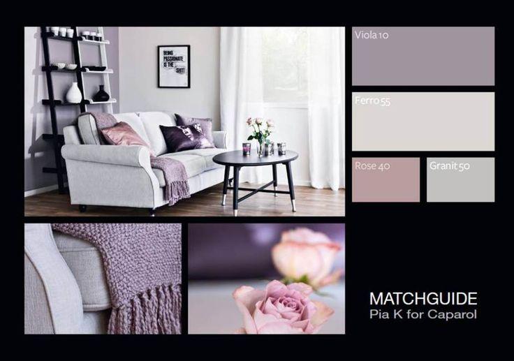 Matchguide färgkarta från Caparol