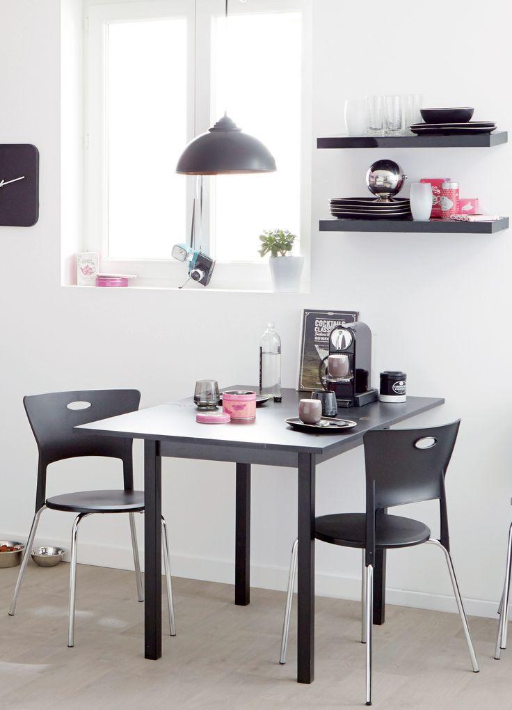 les 63 meilleures images du tableau salle manger sur pinterest d co maison chaises et salle. Black Bedroom Furniture Sets. Home Design Ideas