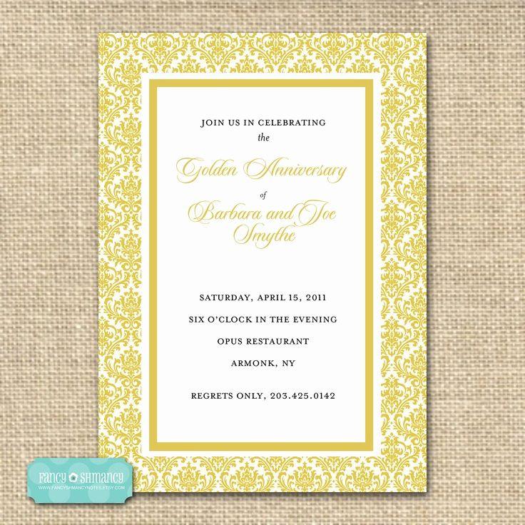 Golden Anniversary Invitation Wording Beautiful 17 Best Images About Golden In 2020 Golden Anniversary Invitations Anniversary Invitations 50th Anniversary Invitations