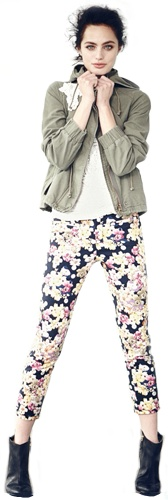 Anthropologie.com // i like these pants. do you think short people can wear ankly printed pants like these and not look dumb? i will try it.