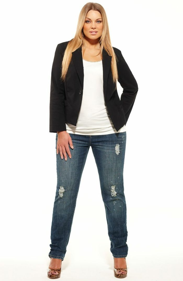 Mode für mollige Damen: 33 Vorschläge #modedesign