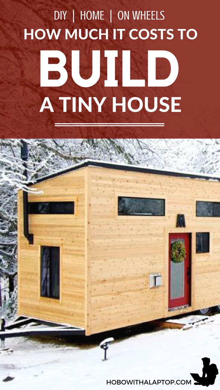 Best 25 tiny houses cost ideas on pinterest building a for Cost to build house estimate