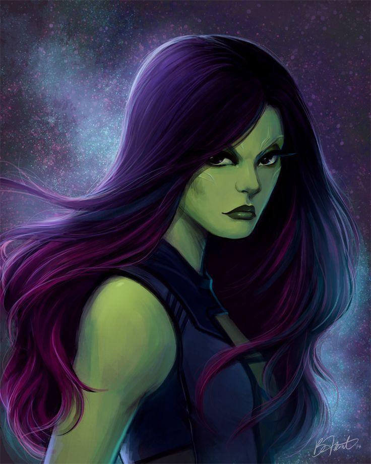 Art Of The Pinup: Gamora By Saehral On DeviantArt