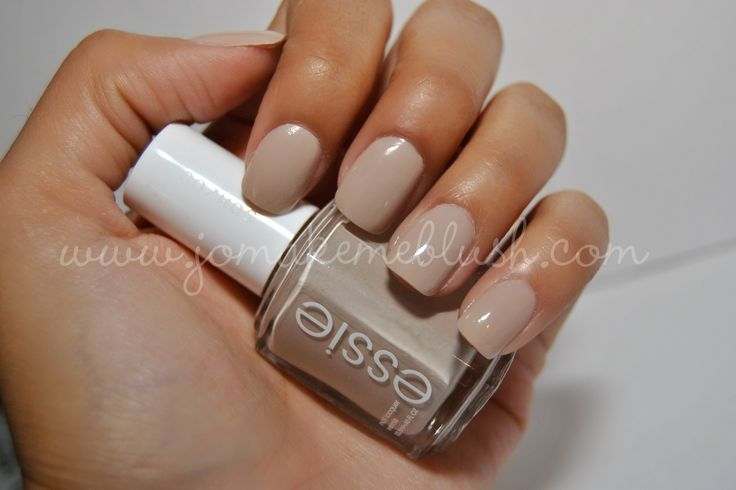 """Or this one- """"Sand Tropez"""" by Essie: Essie Nails, Hairs Nails Makeup, Favorit Nails, Nails Em, Nails Color, Favorite Nails, Nails Art 3, Makeup Hairs Nails, Nails Diy'S"""