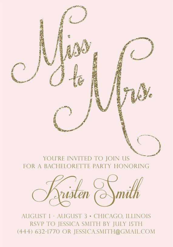 25+ best ideas about Bachelorette Party Invitations on Pinterest | Bachelorette party invites ...