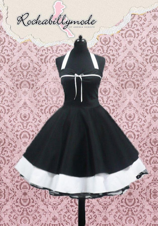 Kleider - Petticoat Kleid Konfirmationskleid 50er Jahre Mode - ein Designerstück von myrockabillymode bei DaWanda
