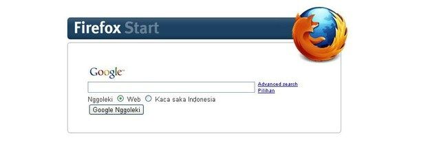 Firefox Google Indonesia