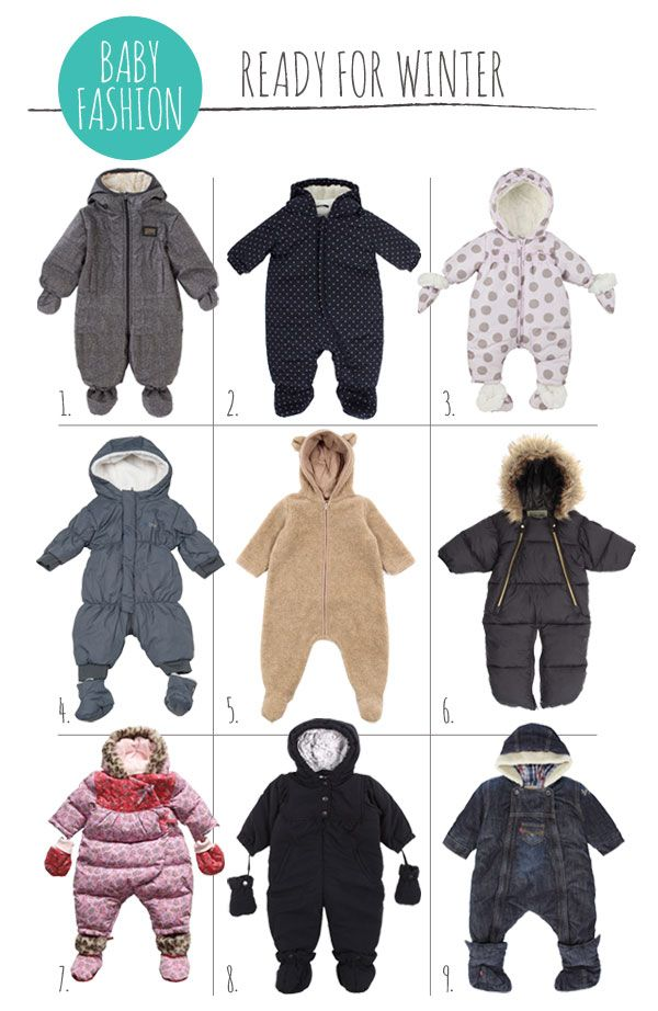 Adorable Fashion for Babies geared towards winter and staying bundled up! {PretaPregnant}