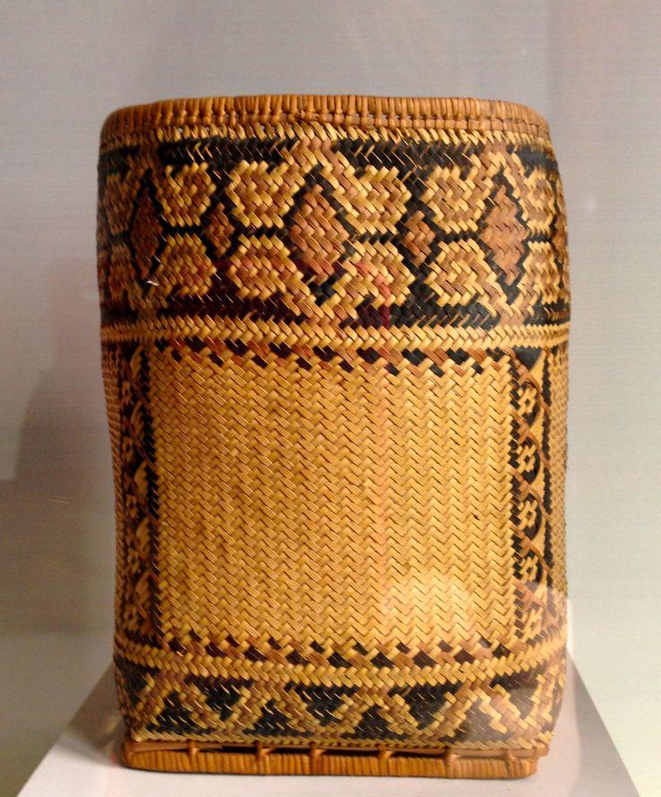 Indonesian Basket in Jakarta Museum