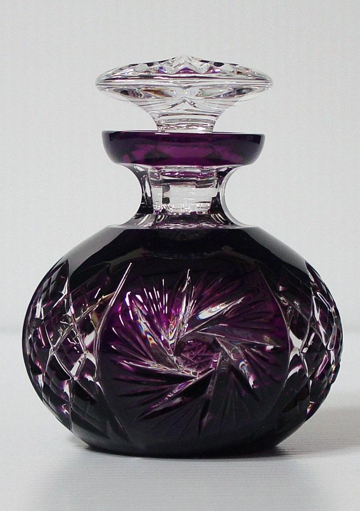 Caesar Crystal - Pinwheel Flacon - Violet