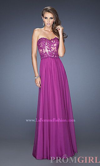 Was not crazy about purple, but I love this dress, CLASSIC!