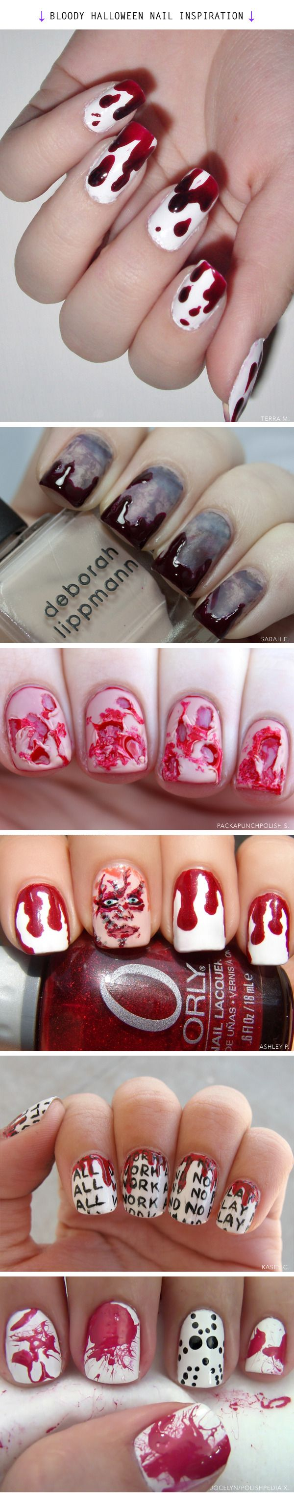 What a Vampire's Nails Really Look Like