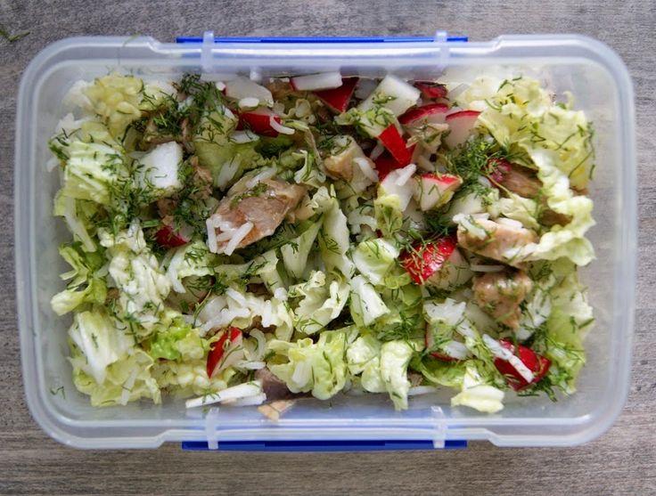 Bento, czyli pudełko z posiłkiem do pracy zaczęłam przygotowywać mojemu mężowi