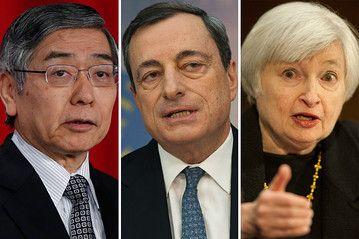 A quoi doit-on s'attendre de la part des banques centrales en 2014? Quelle influence sur le forex? www.professeurforex.com