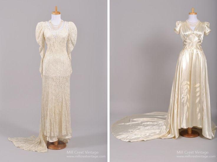 17 Best Ideas About 1940s Wedding Dresses On Pinterest