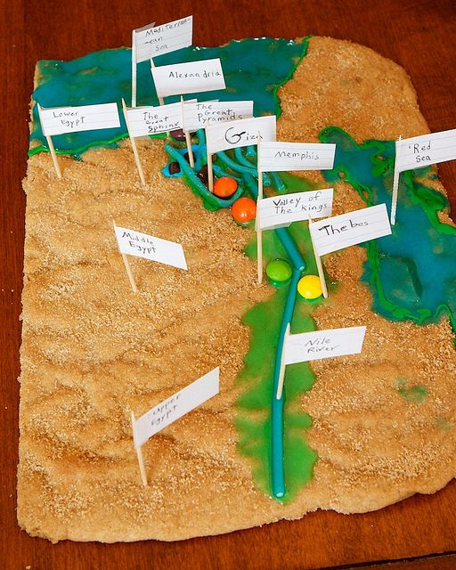 delicious maps of Ancient Egypt.