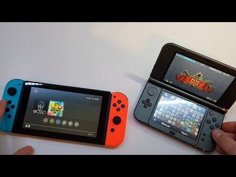 Nintendo Switch vs Nintendo 3DS XL - Andrasi.ro