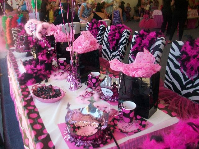 Diva Party Decorations | TUTU MAKING CLASSES EVERY MONDAY EVENING - 6:30p to 8:30p