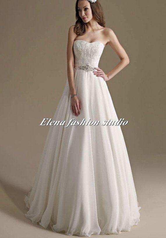 Custom Wedding dress Vintage lace wedding by Elenafashionstudio, $239.00
