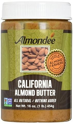 California Almond Butter - 16 Ounce Jar - Real Keto Market keto ketogenic diet