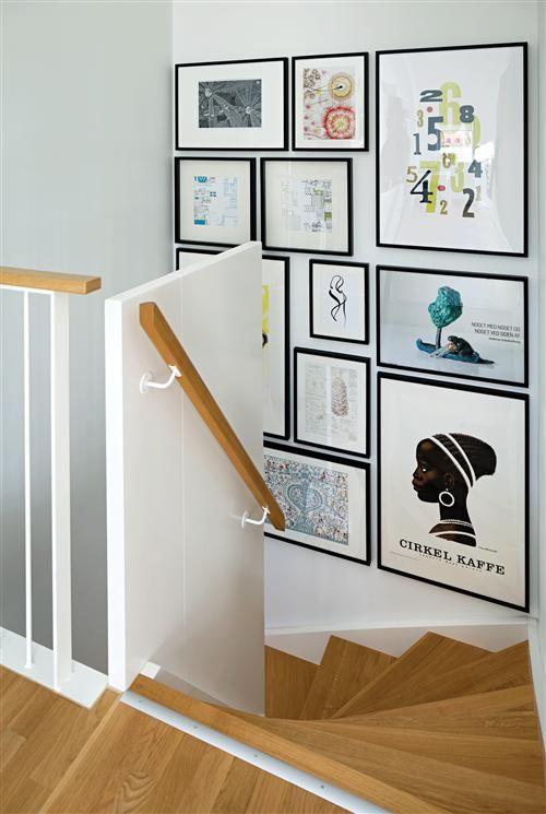 Væg med billeder