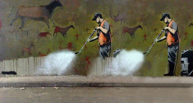 hostory repeating (a graphic divertissement) #banksy #erasingbanksy #graphicdivertissement