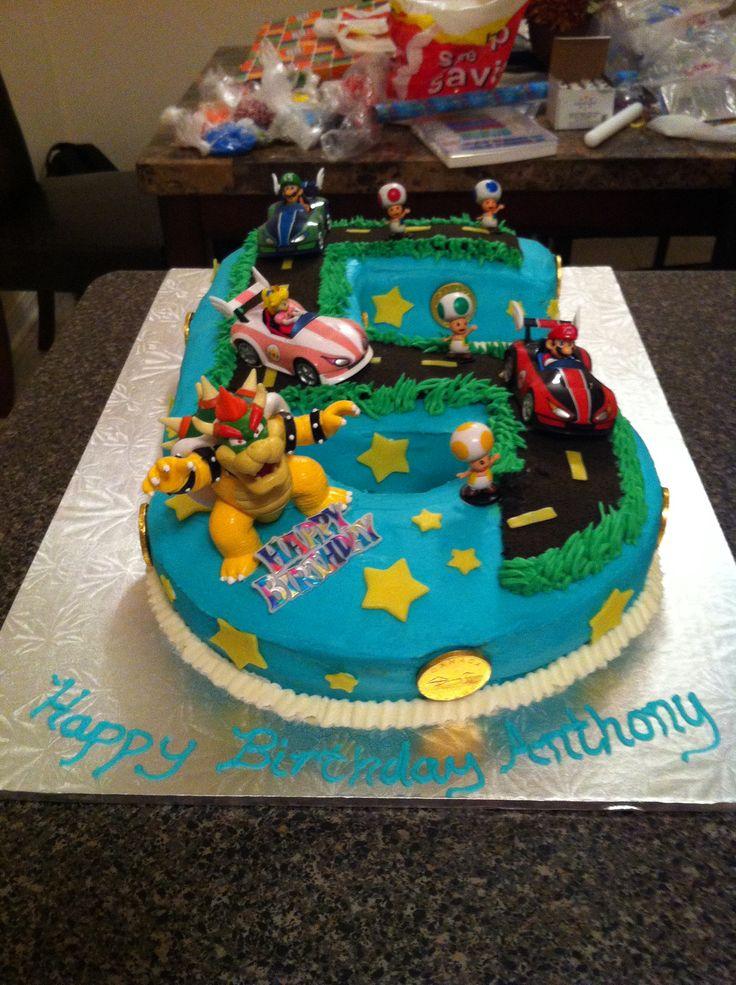 Birthday Cake Mario
