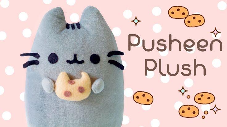 DIY Pusheen Cat & Cookie Plush Tutorial | How to make Pusheen Pillow | I...