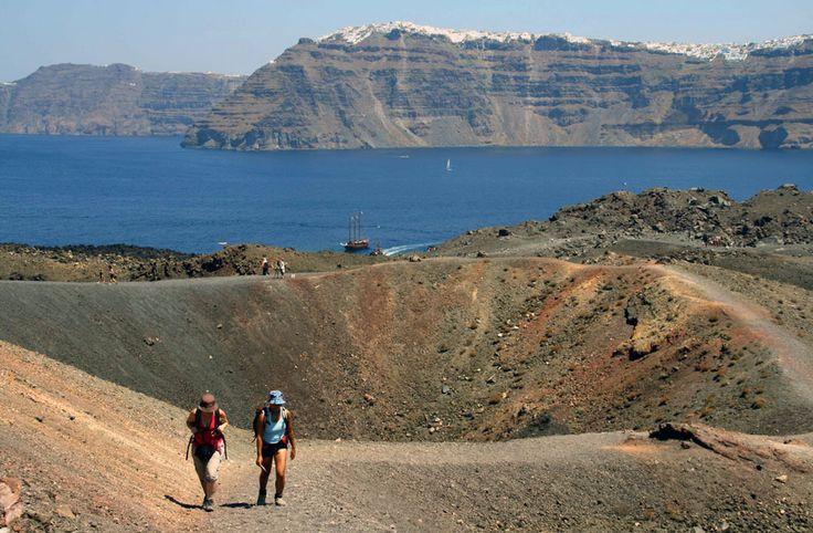 Walk with us around Santorini...