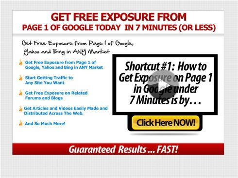 A set of 25 tools and software, available online, that promises to automate the entire traffic-generation process by taking weeks of time-intensive tasks, that you would otherwise do by hand, and condense those tasks into push-button simple tasks. These tasks are designed to help you dominate the search engines while helping you get better rankings and generating extremely targeted leads, FREE traffic, and exposure to your websites from natural search rankings.