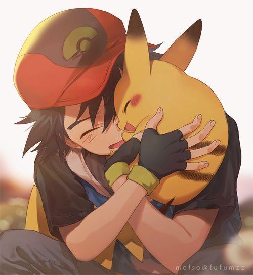 Pokemon-Ash und Pikachu – #Pikachu #PokemonAsh #und