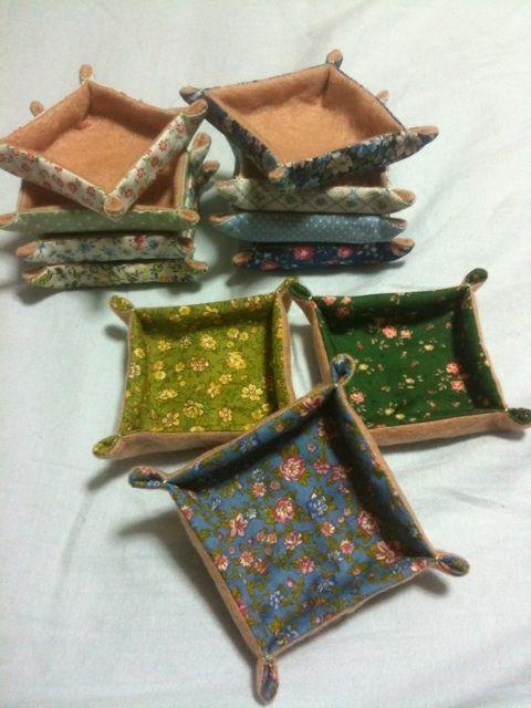 簡単☆小物入れの作り方 ソーイング 編み物・手芸・ソーイング
