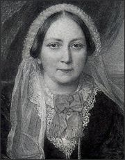"Ellen Wood (1814 – 1887),English novelist, better known as ""Mrs. Henry Wood"". She is best known for her 1861 novel East Lynne."