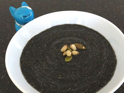 Black Sesame Quinoa Porridge Convert for Thermomix