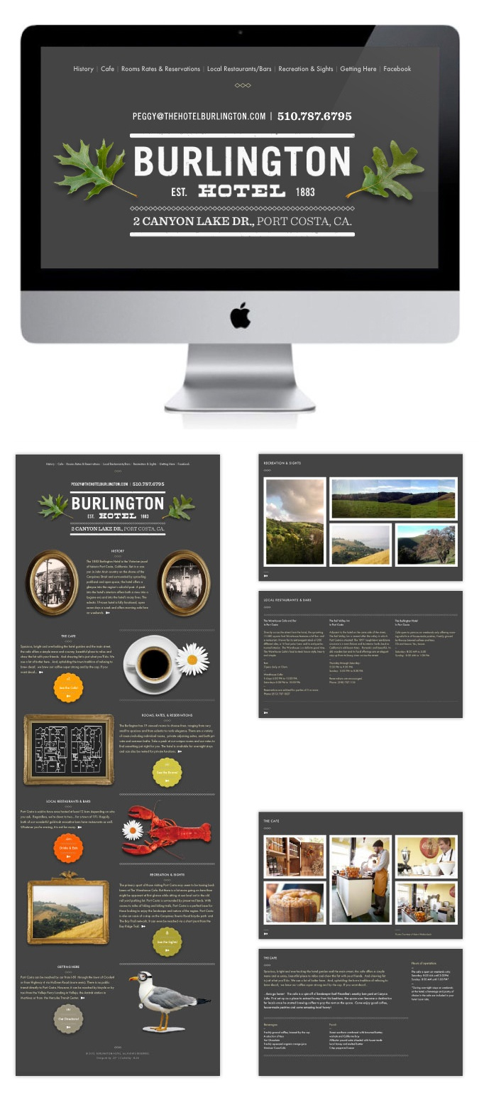Burlington Hotel Website By Area 22