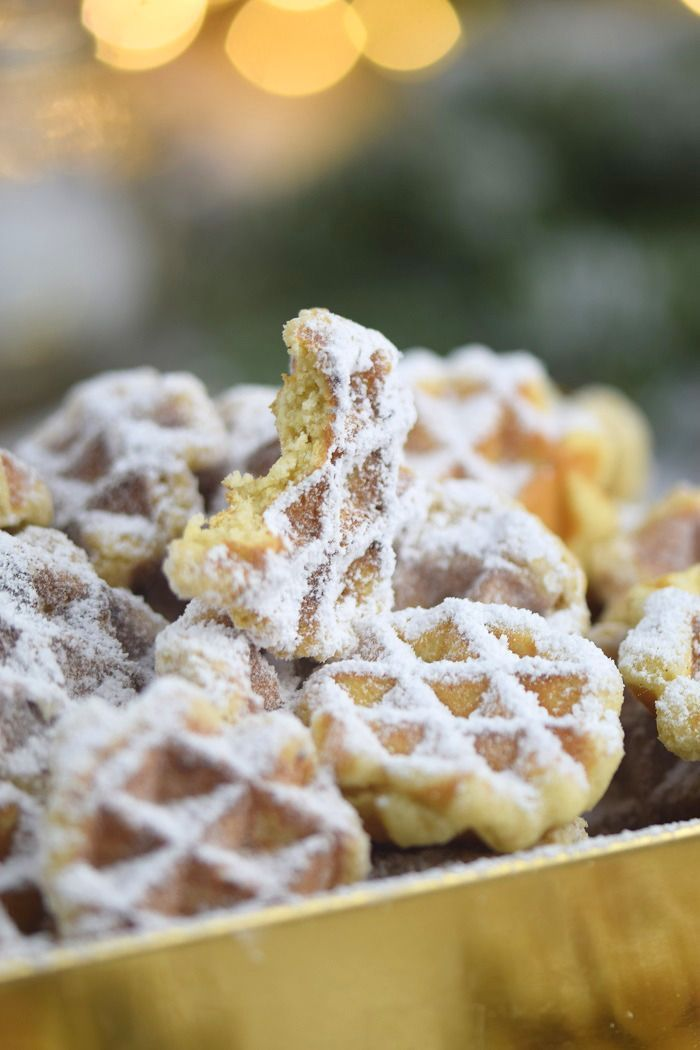 Spekulatius – Waffelplätzchen – Speculoos Waffle Christmas Cookies