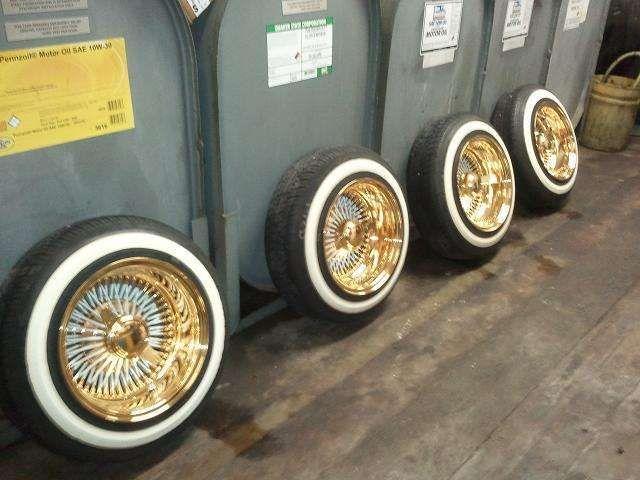 Wire Wheels Gold Dayton Wire Wheels For Sale