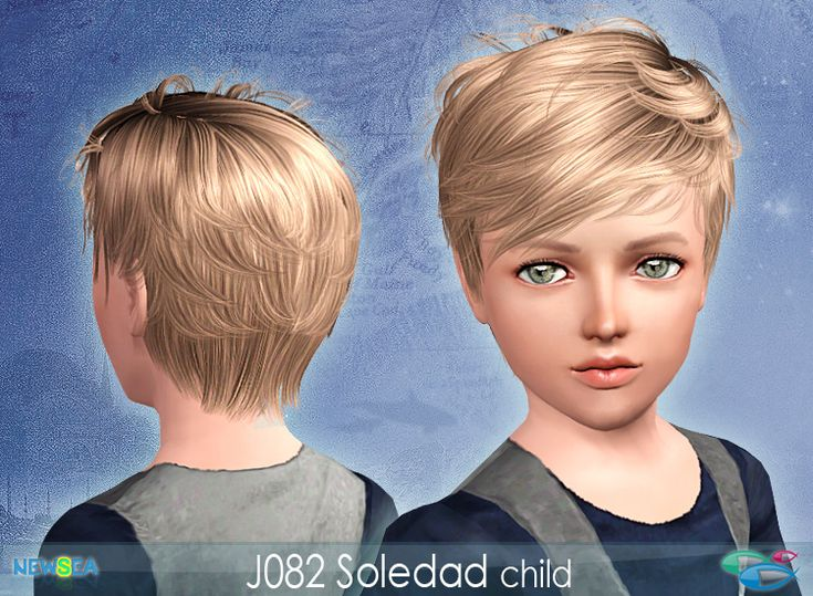 Newsea: Soledad Male & Female Hair *Donation Only* - Sims 3 ...