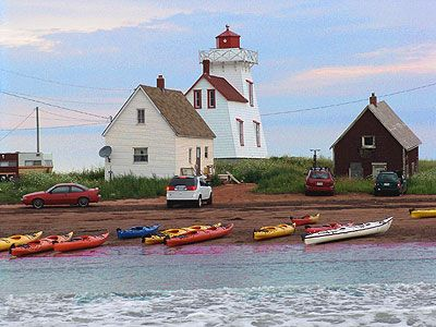 kayaking on Prince Edward Island :)