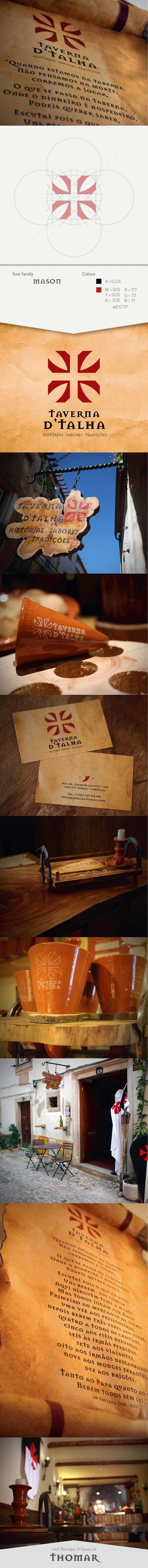 Taverna D'Talha on Behance