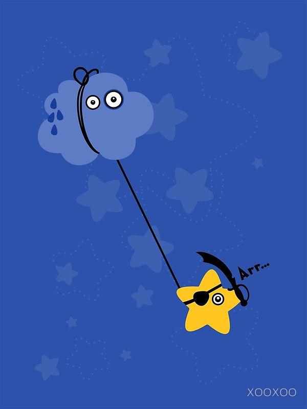 Fantastic Abordage Falling Pirate Star