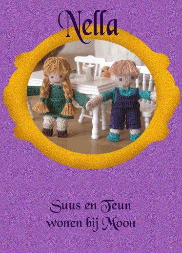 Gente malha de Nella, bonecas nella