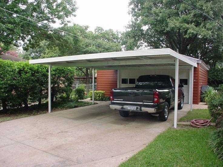 91 best carport ideas images on pinterest carport ideas for Attached carport ideas