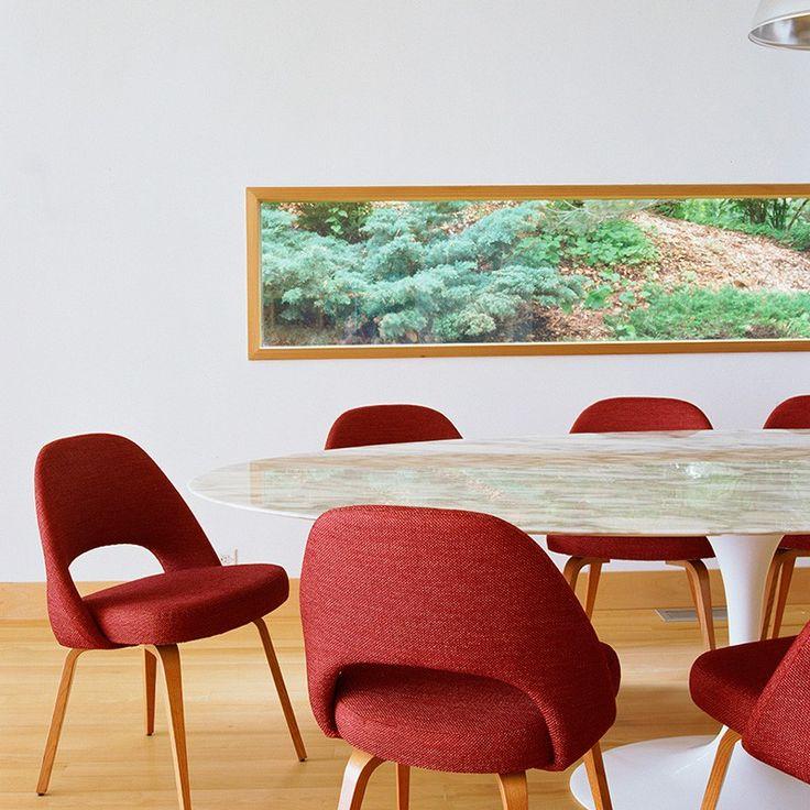 Mesa Saarinen Oval 244 - Mesas - Mesas - Mobiliario
