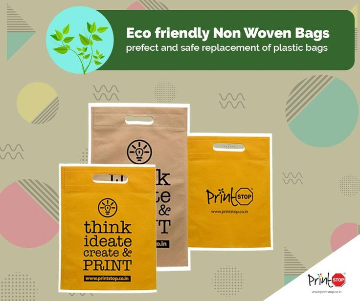 #GoGreen and #ReplaceYourPlasticBags with special environmentally friendly Non-Woven #Bags, only from #PrintStop! Buy Now at https://www.printstop.co.in/non-woven-bag/?utm_source=facebook&utm_medium=post&utm_campaign=non-woven%20bags&utm_term=bag&utm_content=product