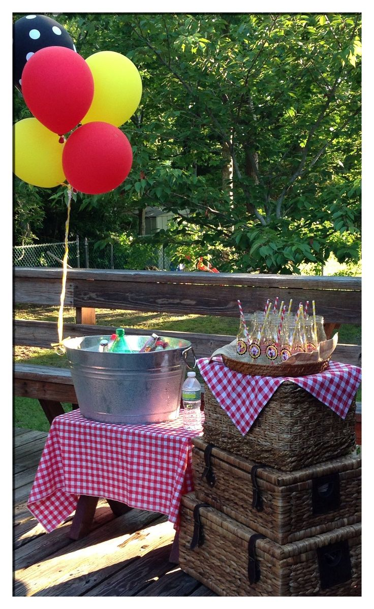 My Daughter's 2nd Birthday Picnic Theme Party! Decor by Myself~Andrea Solano