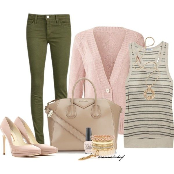 83 Best Images About Olive Green Casual Outfits On Pinterest